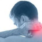large neck pain